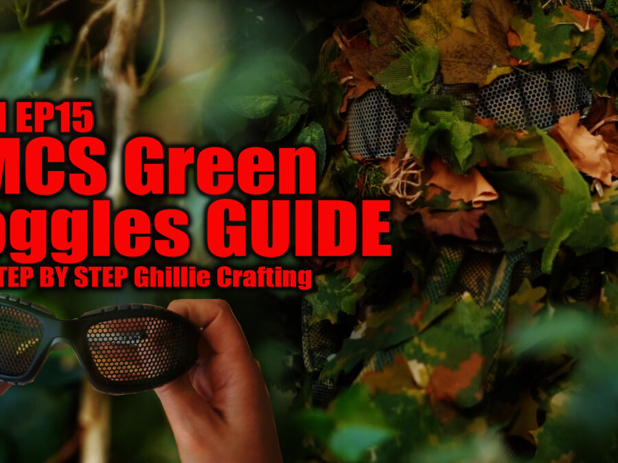 Goggle Ghillie Crafting